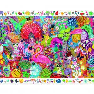Djeco 7452 Puzzle Rio Karneval