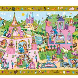 Djeco 7556 Puzzle Prinzessin 54 Teile