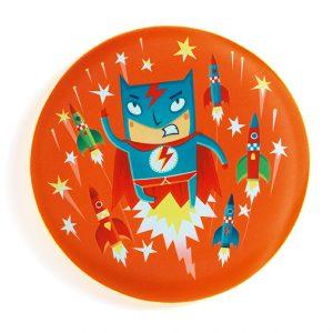 Djeco 2034 Frisbee Superheld