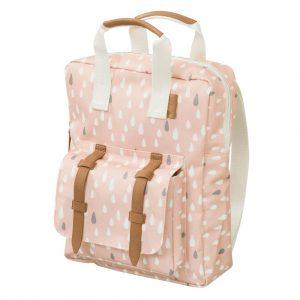 FRESK Rucksack für Kinder Rosa Tropfen