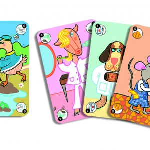 Djeco 5115 Kartenspiel Happy Family