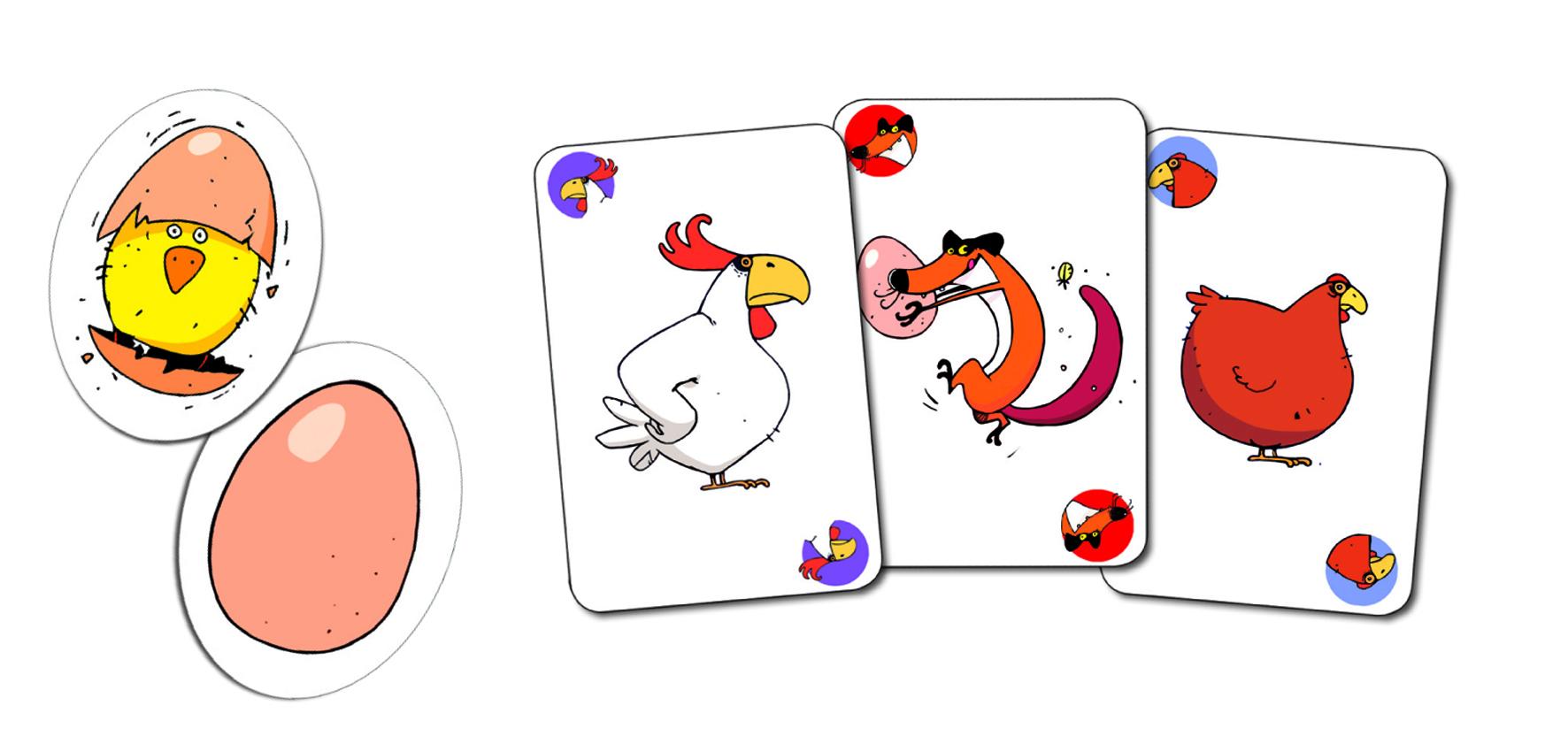 Djeco 5119 Kartenspiel Piou Piou