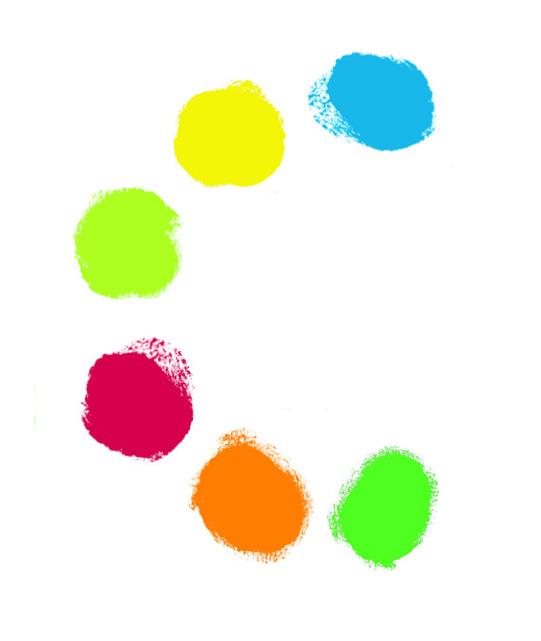 Djeco 8860 6 Tuben Fingerfarbe auswaschbar