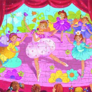 Djeco 7227 Silhouette Puzzle Ballerina