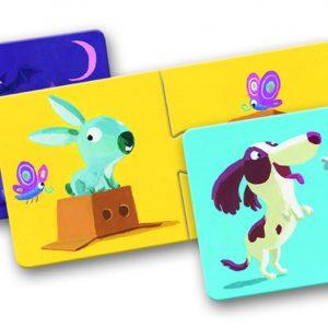 Djeco 8162 Puzzle Duo Gegensätze