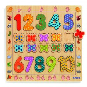 Djeco 1801 Zahlenpuzzle