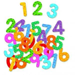 Djeco 3103 Magnetisches Spiel 38 Zahlen