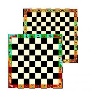 Djeco 5225 Schach- und Damespielkoffer