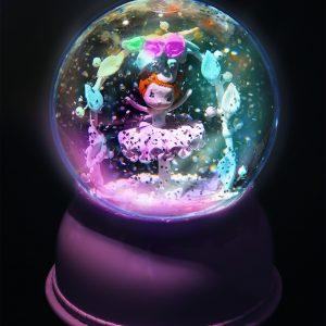 Djeco 3400 Nachtlicht Schneekugel Ballerina