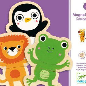 Djeco 3118 Magnetisches Puzzle Coucou