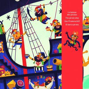 Djeco 7129 Riesen Puzzle Piratenschiff
