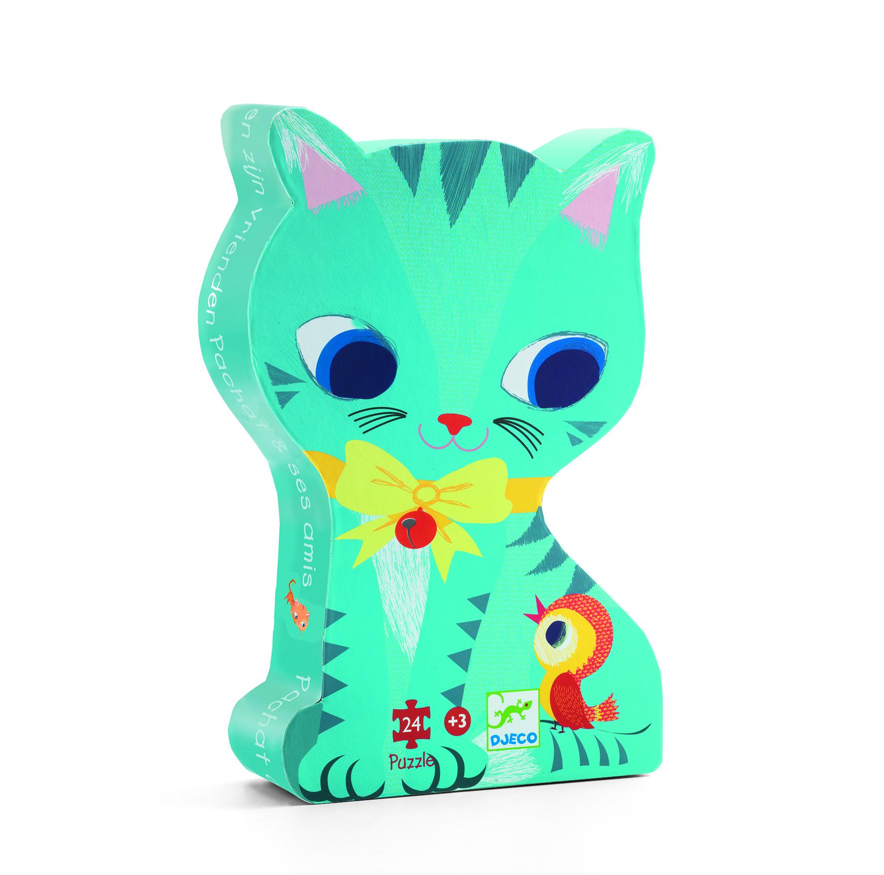 Djeco 7207 Silhouette Puzzle Katze