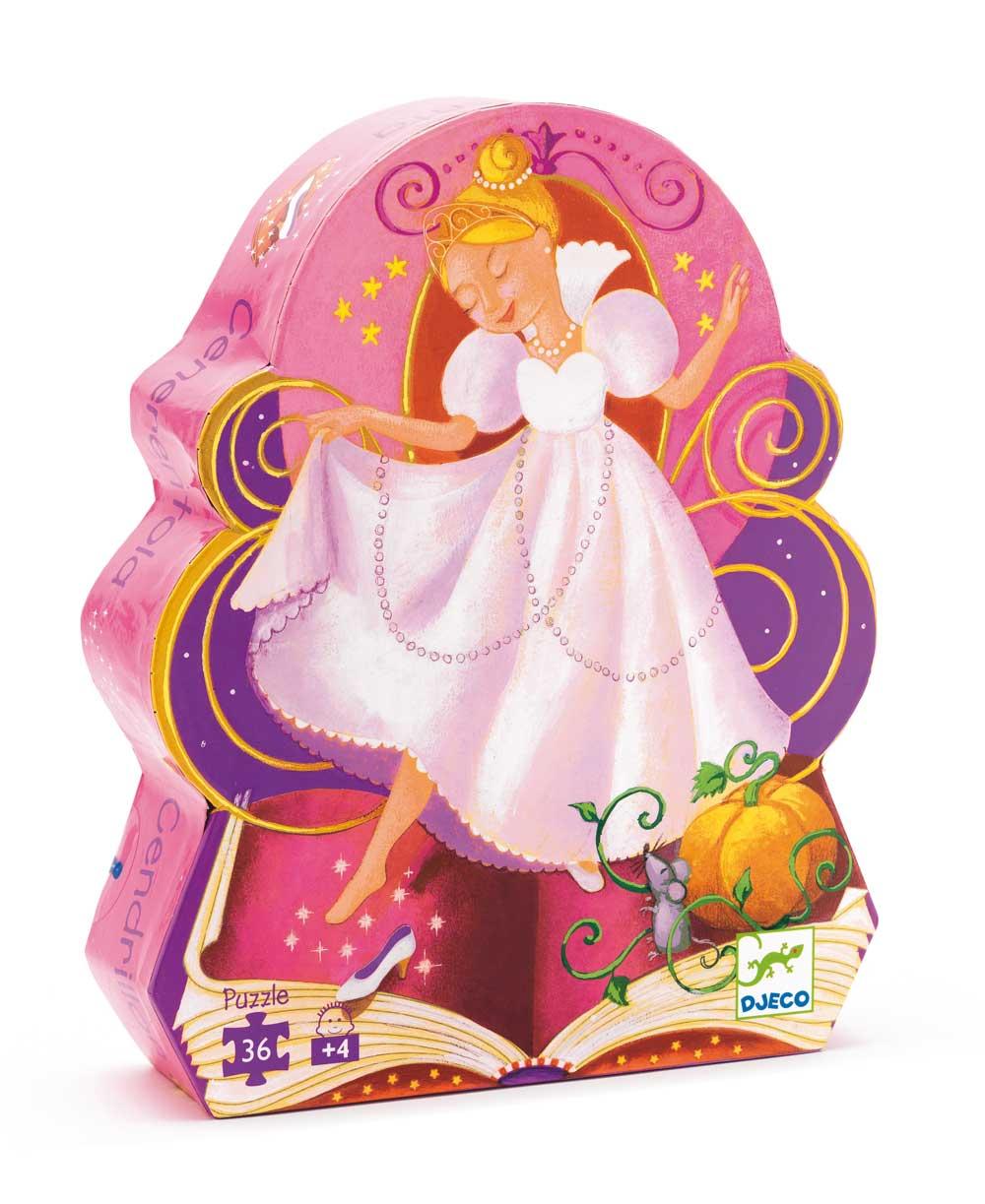 Djeco 7232 Silhouette Puzzle Cinderella