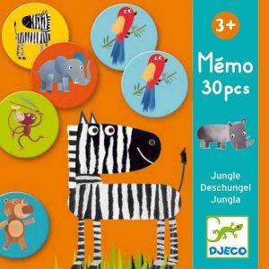 Djeco 8159 Lernspiel Memo Dschungel