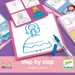 Djeco 8320 Step by step – Joséphine and Co