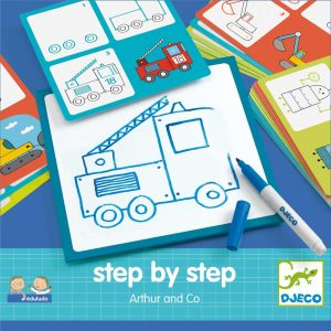 Djeco 8321 Step by step – Arthur and Co