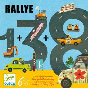 Djeco 8461 Rallye – Lernspiel
