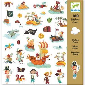Djeco 8839 Stickerset Piraten