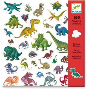 Djeco 8843 Stickerset Dinosaurier