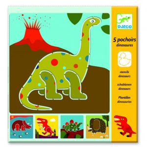 Djeco Schablonen 8863 Dinosaurier