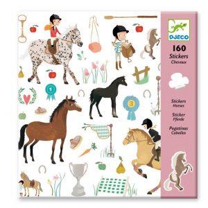 Djeco 8881 Stickerset Horses