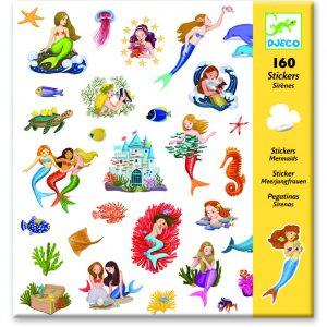 Djeco 8885 Stickerset Meerjungfrauen