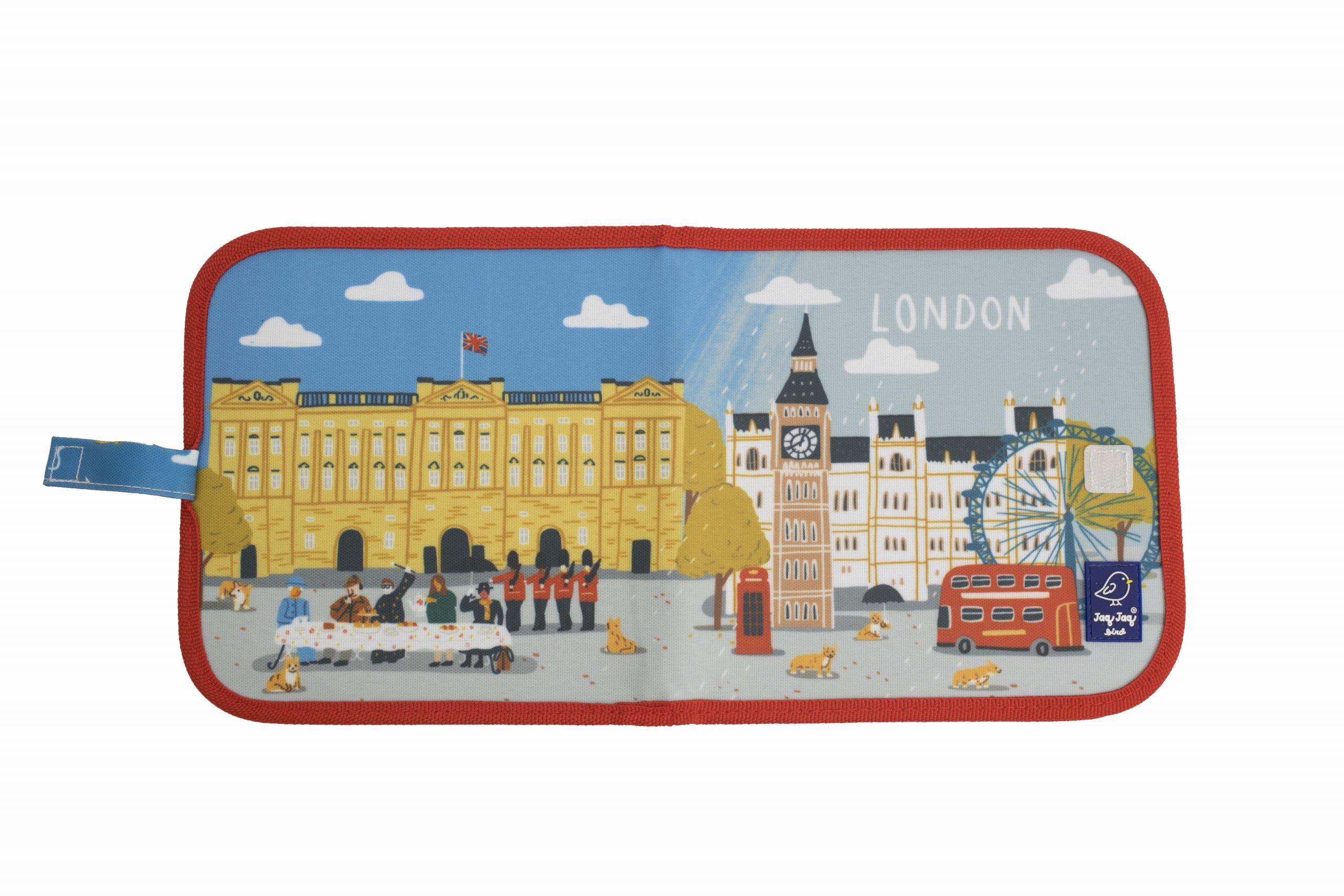 "Jaq Jaq Bird Kreide Malbuch Cities of Wonder ""London"""