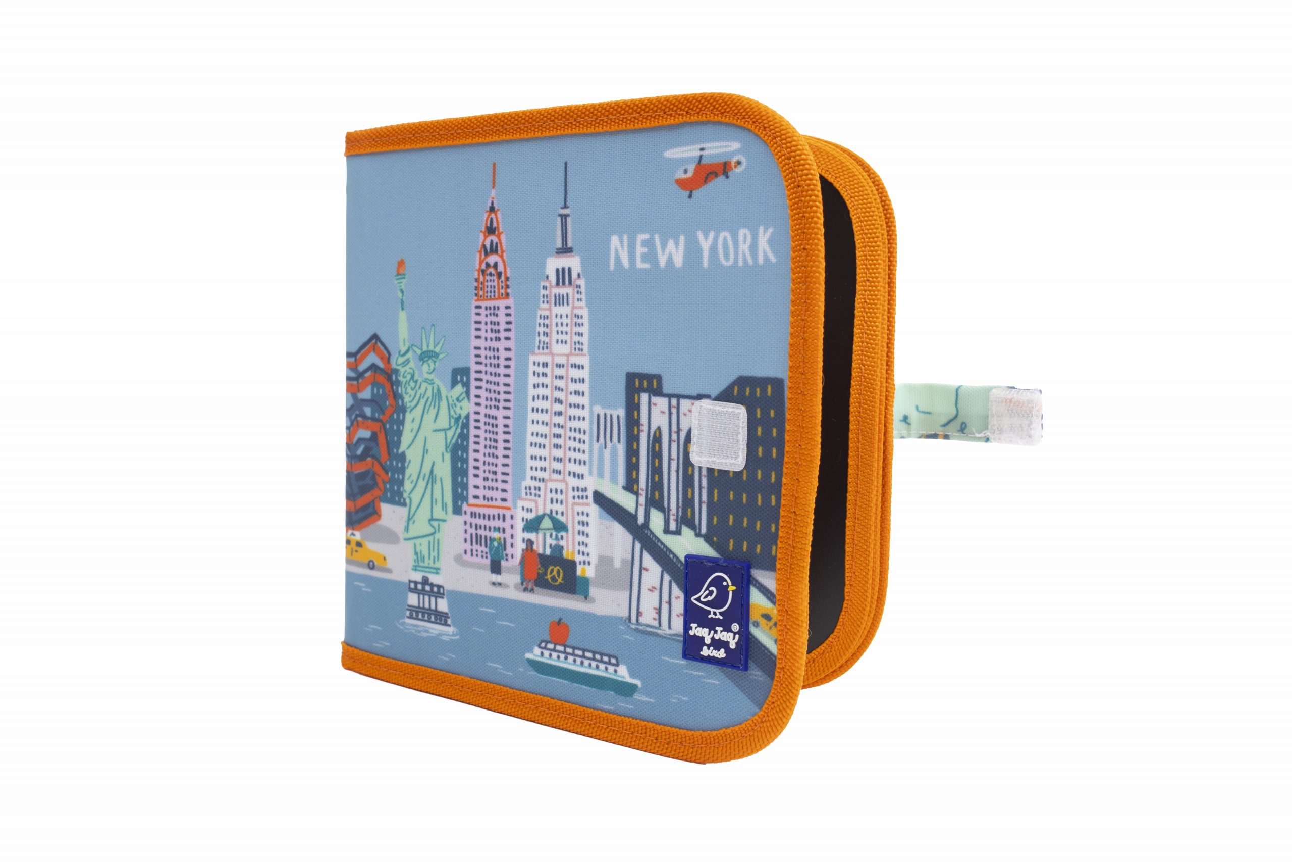 "Jaq Jaq Bird Kreide Malbuch Cities of Wonder ""New York"""