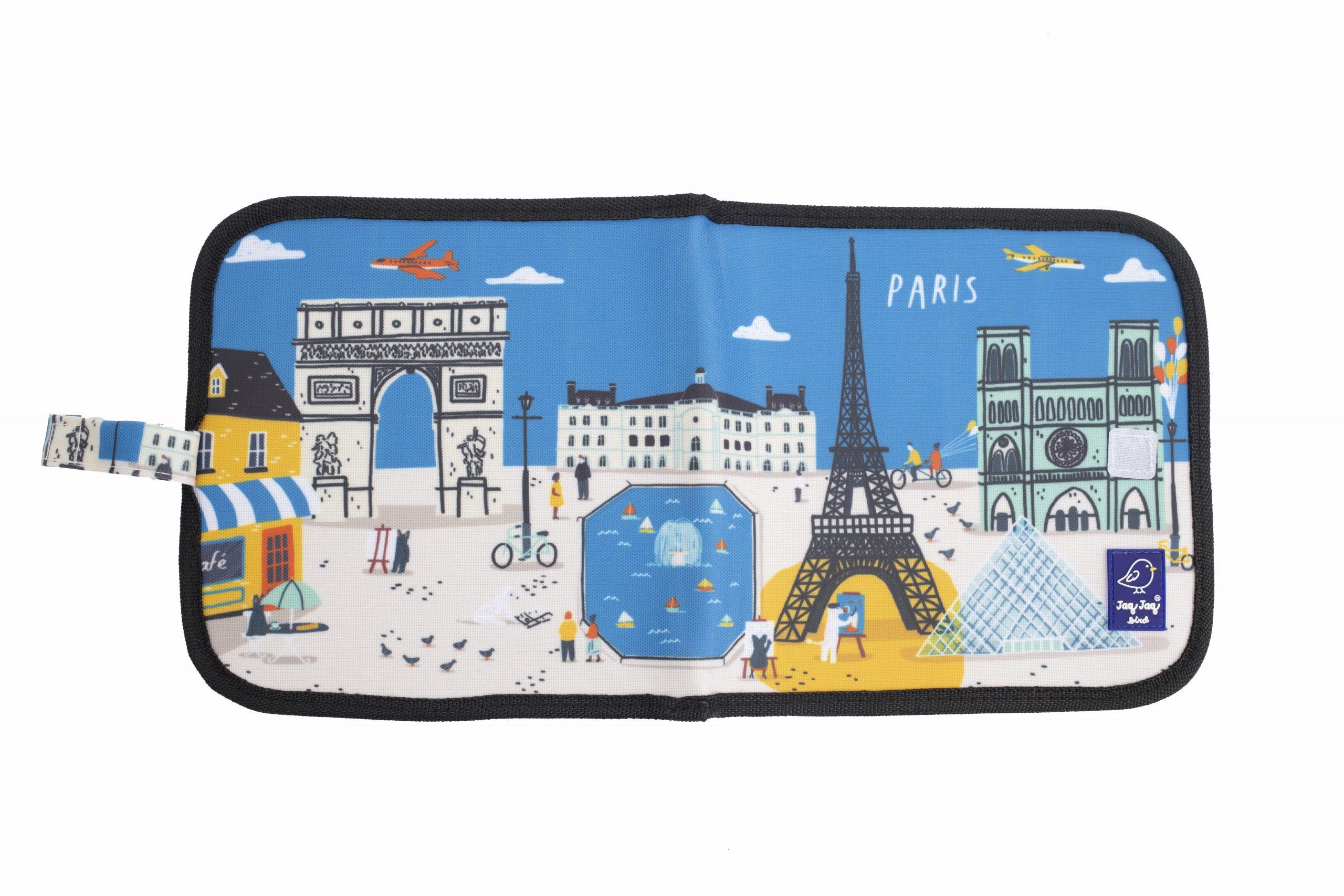 "Jaq Jaq Bird Kreide Malbuch Cities of Wonder ""Paris"""