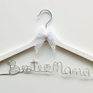 Kleiderbügel Beste Mama silber