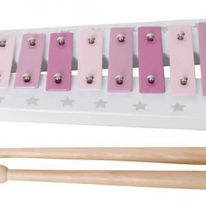JaBaDaBaDo Holz-Instrument Xylophon rosa