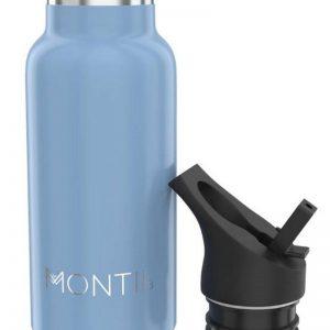 MontiiCo Mini Kinder Edelstahl Trinkflasche Slate