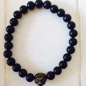 """Armband für Männer """"Löwe"""" antik bronze"""