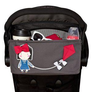 City Bucket Kinderwagen-Organizer EMILY