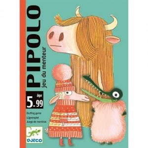 Djeco 5108 Kartenspiel Pipolo