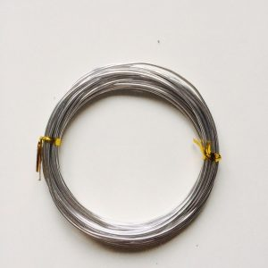 6m Aluminumdraht 1,5mm silber