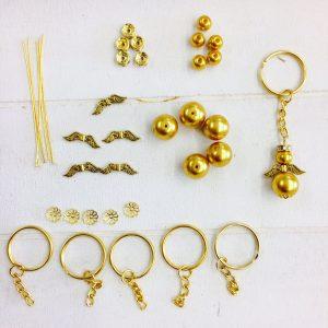 Bastelset Kleiner Schutzengel gold (gold)