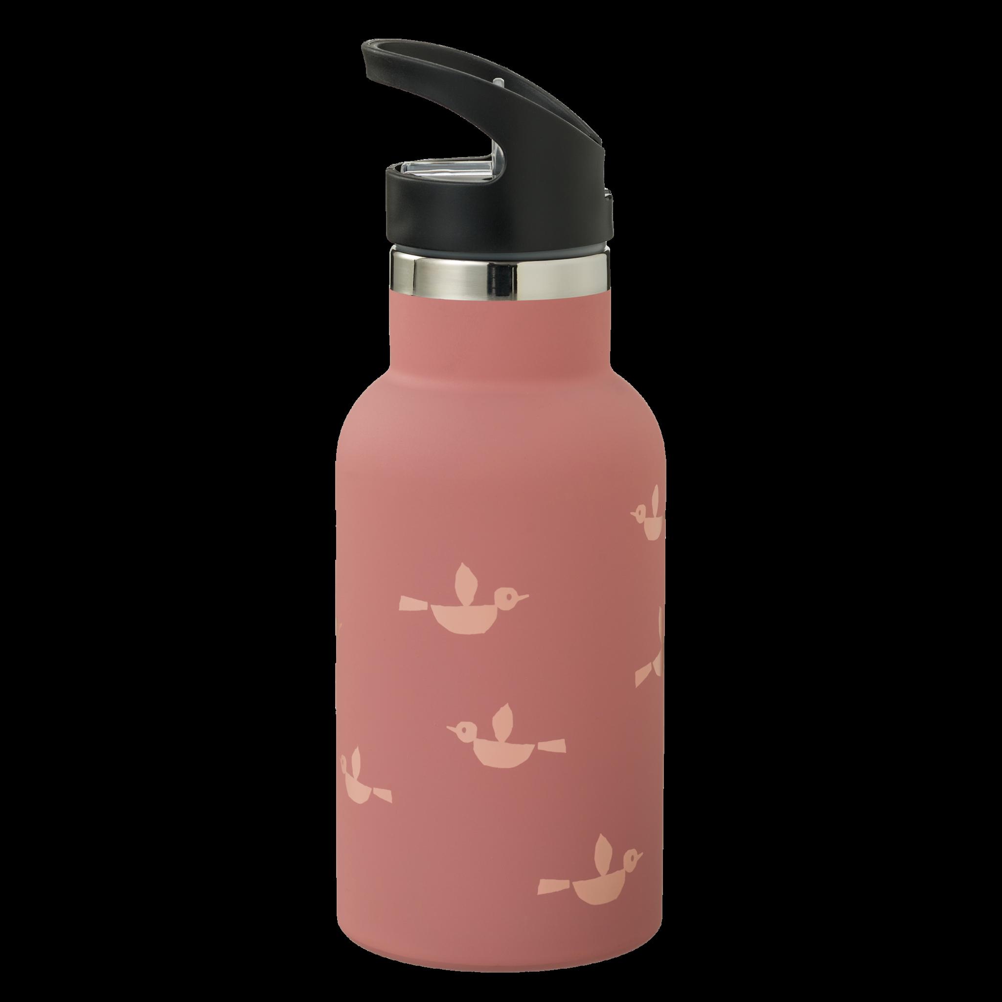 FRESK Thermosflasche/Trinkflasche Nordic Vögel