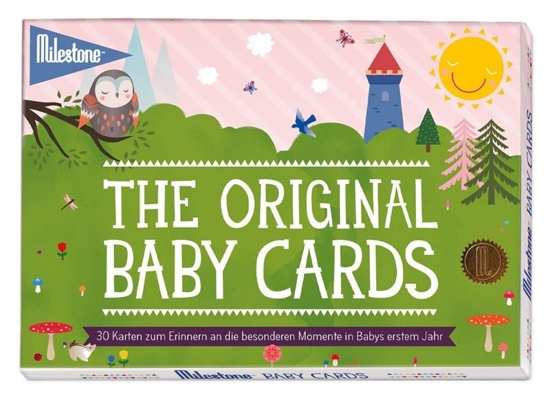 Milestone Babykarten bunt