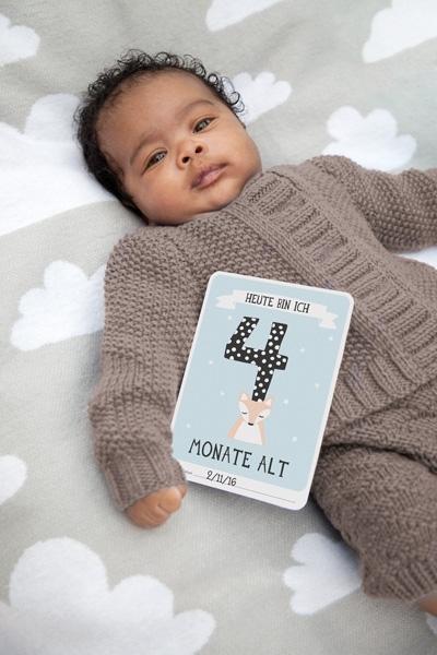Milestone Babykarten