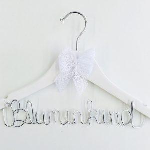 Kleiderbügel Blumenkind