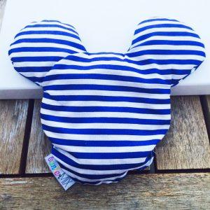 Kirschkernkissen Mickey Mouse blau