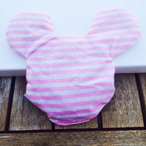 Kirschkernkissen Mickey Mouse rosa