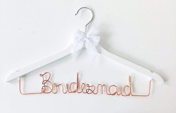 Kleiderbügel Bridesmaid kupfer
