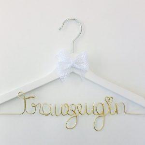 Kleiderbügel personalisiert