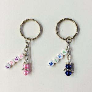 Mini-Schutzengel Schlüsselanhänger personalisiert mit Name