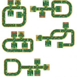 Djeco 7162 Riesen Puzzle Pop to Play Straßen