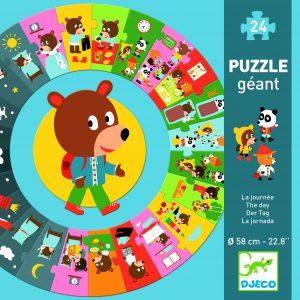 Djeco 7015 Riesen Puzzle Der Tag