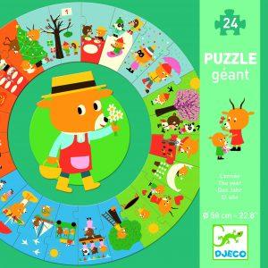 Djeco 7016 Riesen Puzzle Das Jahr
