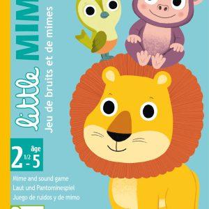 Djeco 5063 Kartenspiel Little Mime – Pantomime und Kooperationsspiel